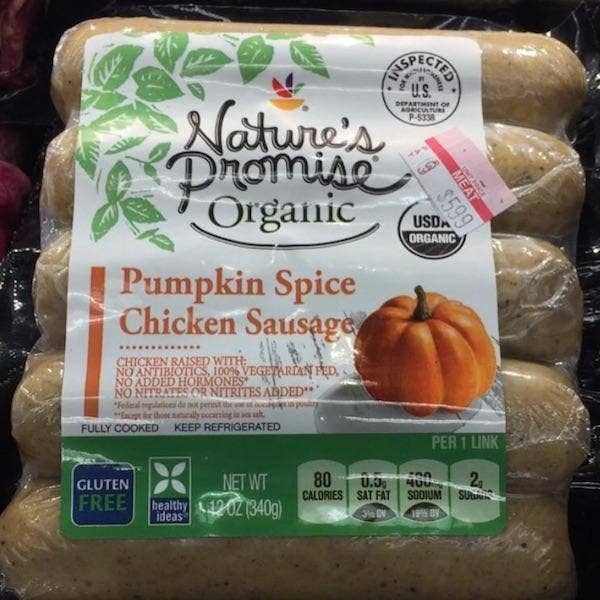 Can You Eat Pumpkin Spice In Tube Meat Form