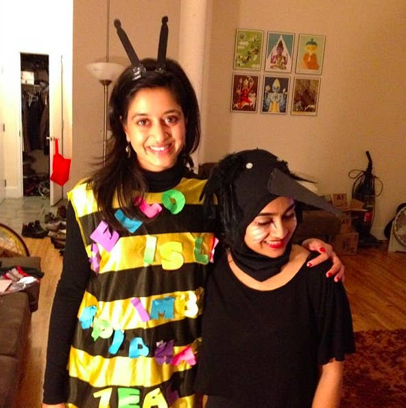 17 spelling bee - Halloween Puns Costume