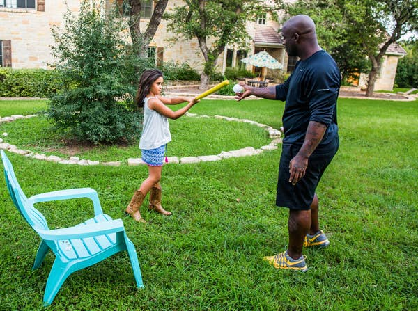 Photo of Ricky Williams  & his  Daughter  Asha Williams