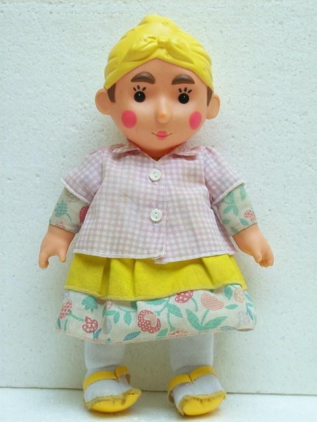 A boneca da Gorete.