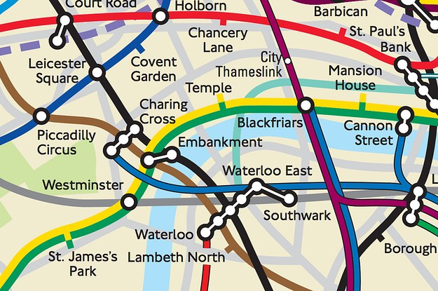 This Physically Accurate Tube Map Will Change The Way You Think ...