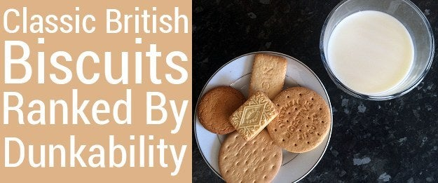 Everybody knows the best way to eat biscuits is to dunk them first.What you dunk them into – milk, tea, hot chocolate, whatever – is a matter of choice, but it is a NECESSITY.Here are five classic British biscuits ranked based on how dunkable they are.
