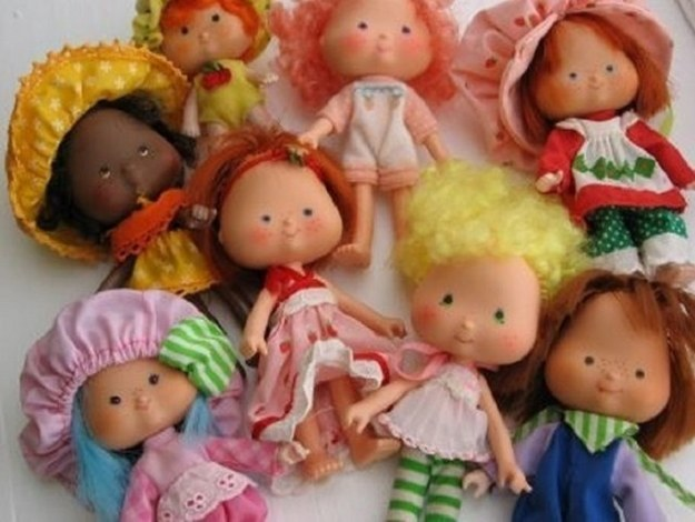 As inesquecíveis bonecas Moranguinho, cujo cheiro já deve estar em seu nariz agora.