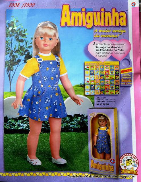 A Amiguinha, que passou décadas assustando as crianças com seu tamanho.