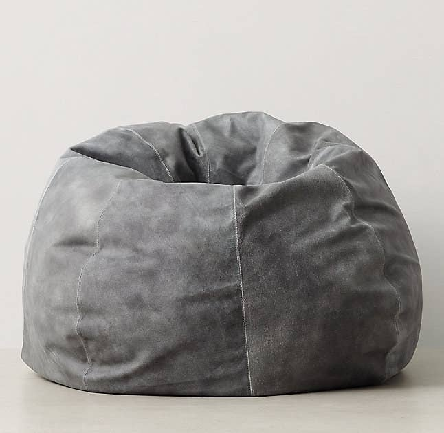 A 600 Handcrafted Leather Bean Bag