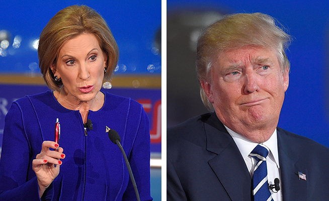 How Carly Fiorina Confounded Donald Trump