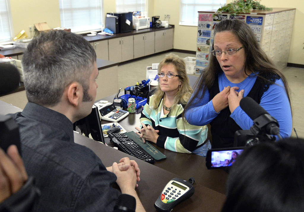 Few Options To Remove Kentucky Clerk From Office