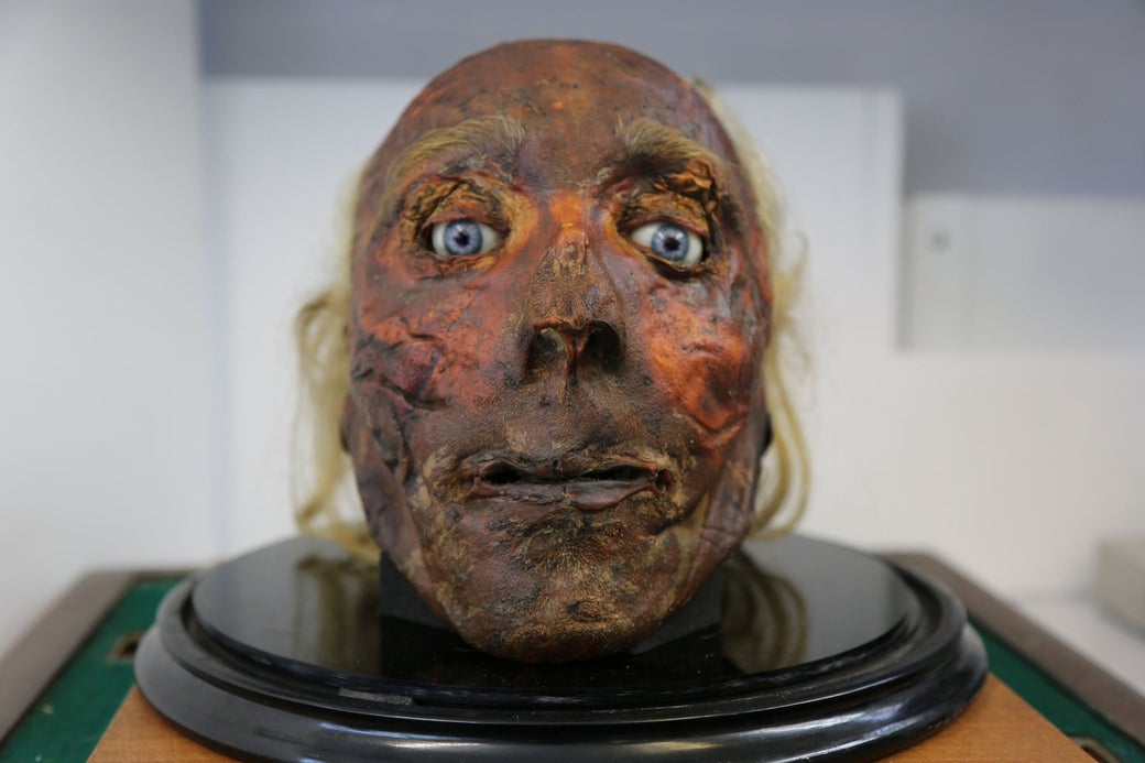 Image result for jeremy bentham's head