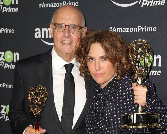 Jeffrey Tambor and director Jill Soloway.