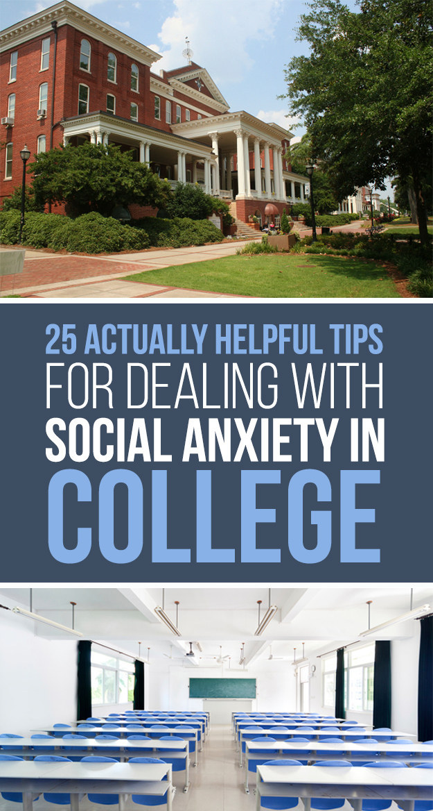 25 Things Every College Student Should Know About Dealing With Social Anxiety