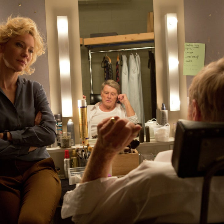 Cate Blanchett and Robert Redford in Truth