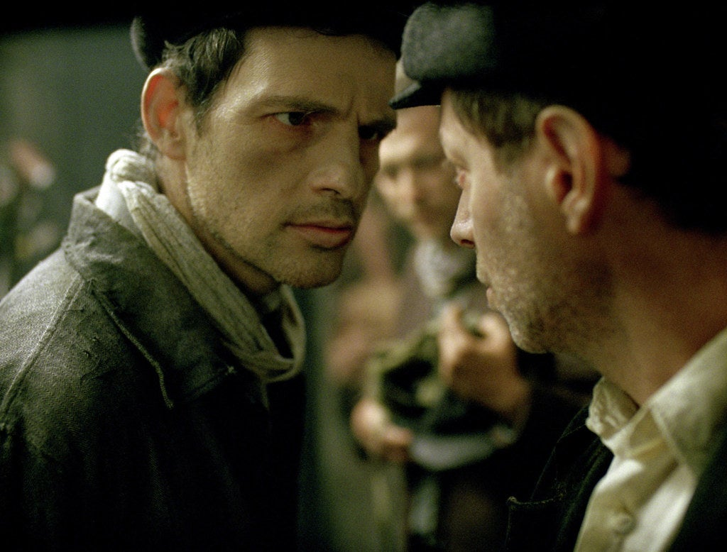Géza Röhrig in Son of Saul