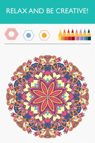 Or Try A Coloring App