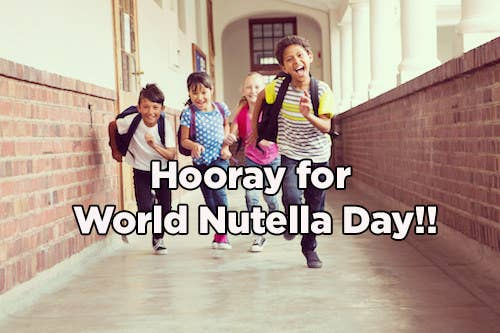 How will anyone get anything done while thoughts of Nutella® swirl in their heads?!