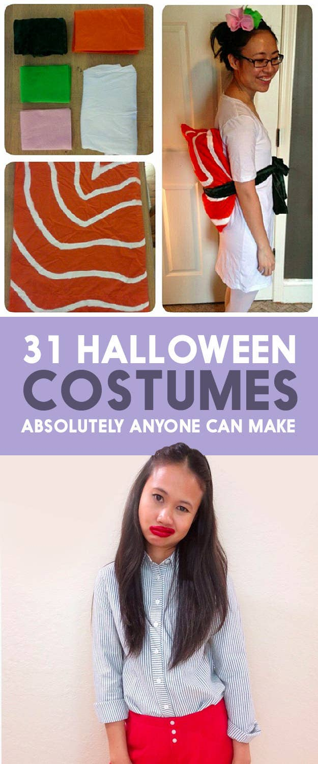 31 Halloween Costumes That Require Absolutely No Skill