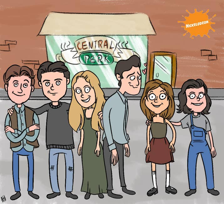 90s TV Shows Reimagined As Nickelodeon Cartoons