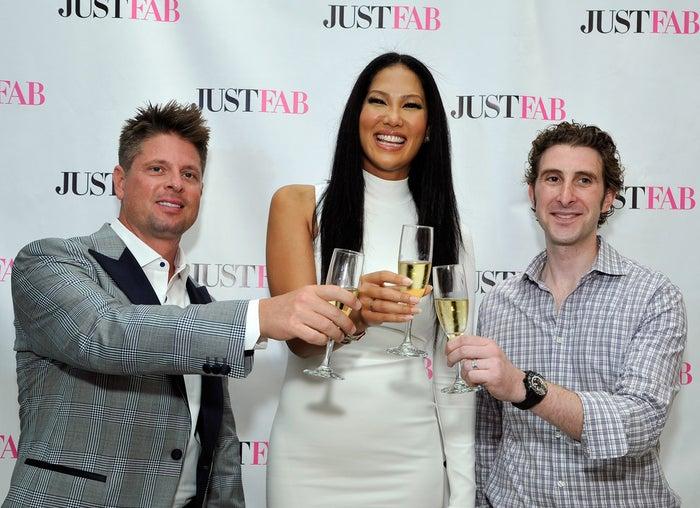 From left: Don Ressler, Kimora Lee Simmons, and Adam Goldenberg.