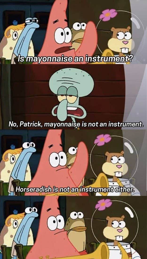 25 Of The Most Hilarious Spongebob Quotes