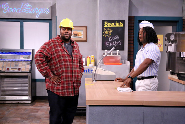 "Kenan Thompson And Kel Mitchell Reunited On ""The Tonight Show"" And Our '90s Dreams Came True"