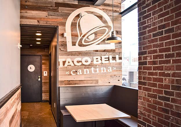 """The two are the first of a series of planned restaurants that will carry the Taco Bell Cantina brand. Restaurants include revamped interior design, a couple of new menu items and, most importantly, alcohol.The reason for this new spinoff? """"People like to have a beer with their taco,"""" Taco Bell CEO Brian Niccol told Fortune back in June."""