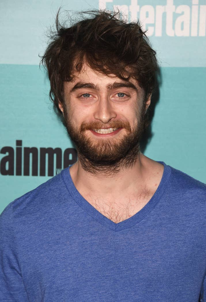 Daniel radcliffe has ditched the hairy potter look or facial fuzz pmusecretfo Choice Image