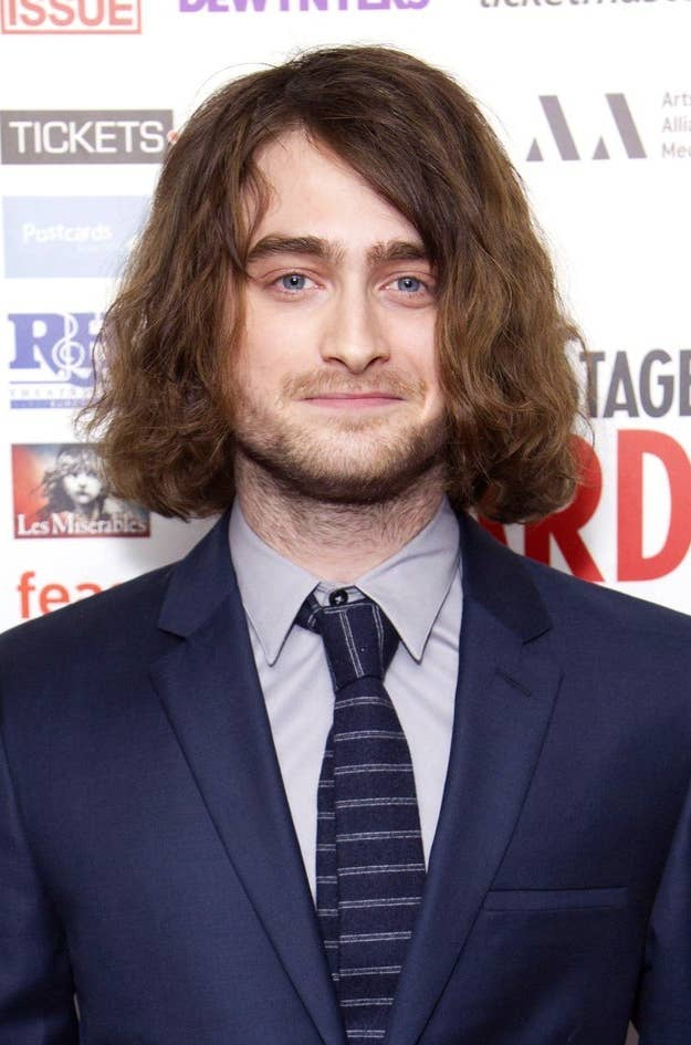 Daniel radcliffe has ditched the hairy potter look and we kinda like the transformation pmusecretfo Choice Image