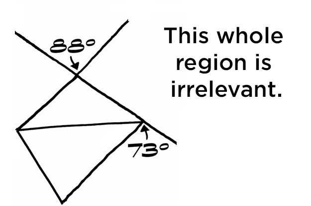 we bet you can t solve this really hard geometry problem stumped here s a hint