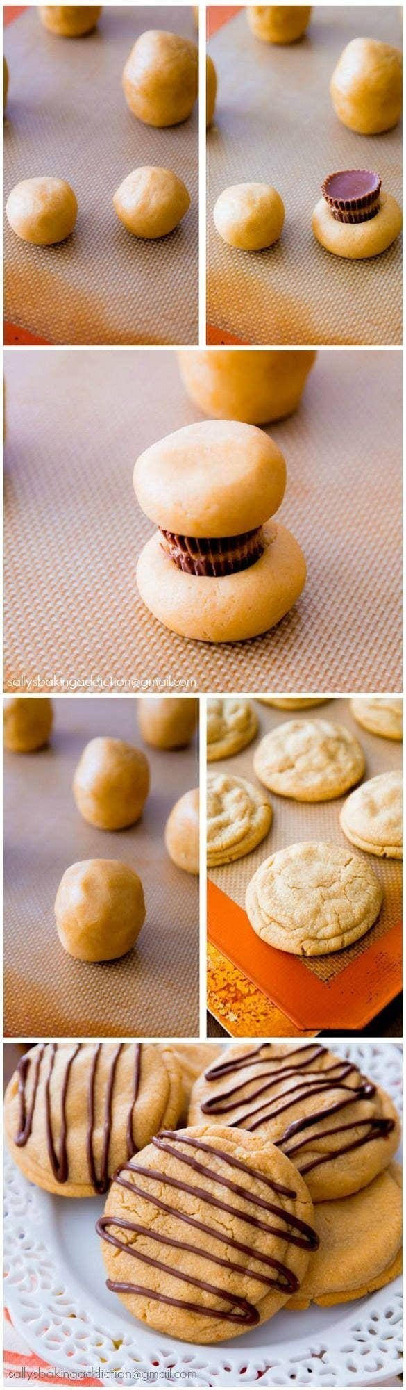 Recipe: Reeses-Stuffed Peanut Butter Cookies