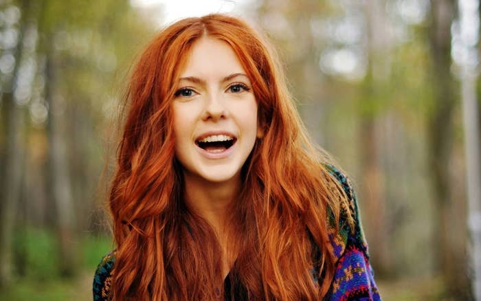 You won't lose your ginger love interest anymore. How practicable is that?