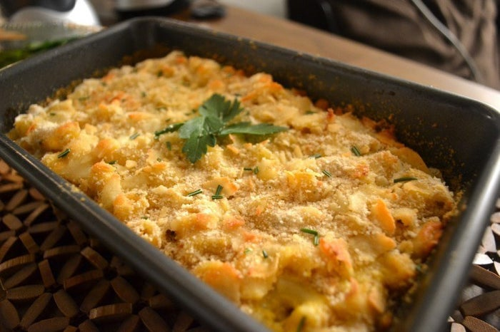 The healthy version of Easy Mac. Recipe here.