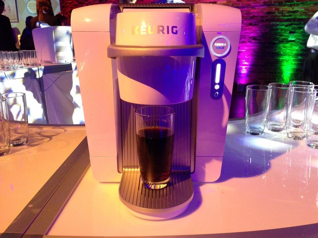 Keurig's Home-Brew Coca-Cola Machine Launches Tuesday