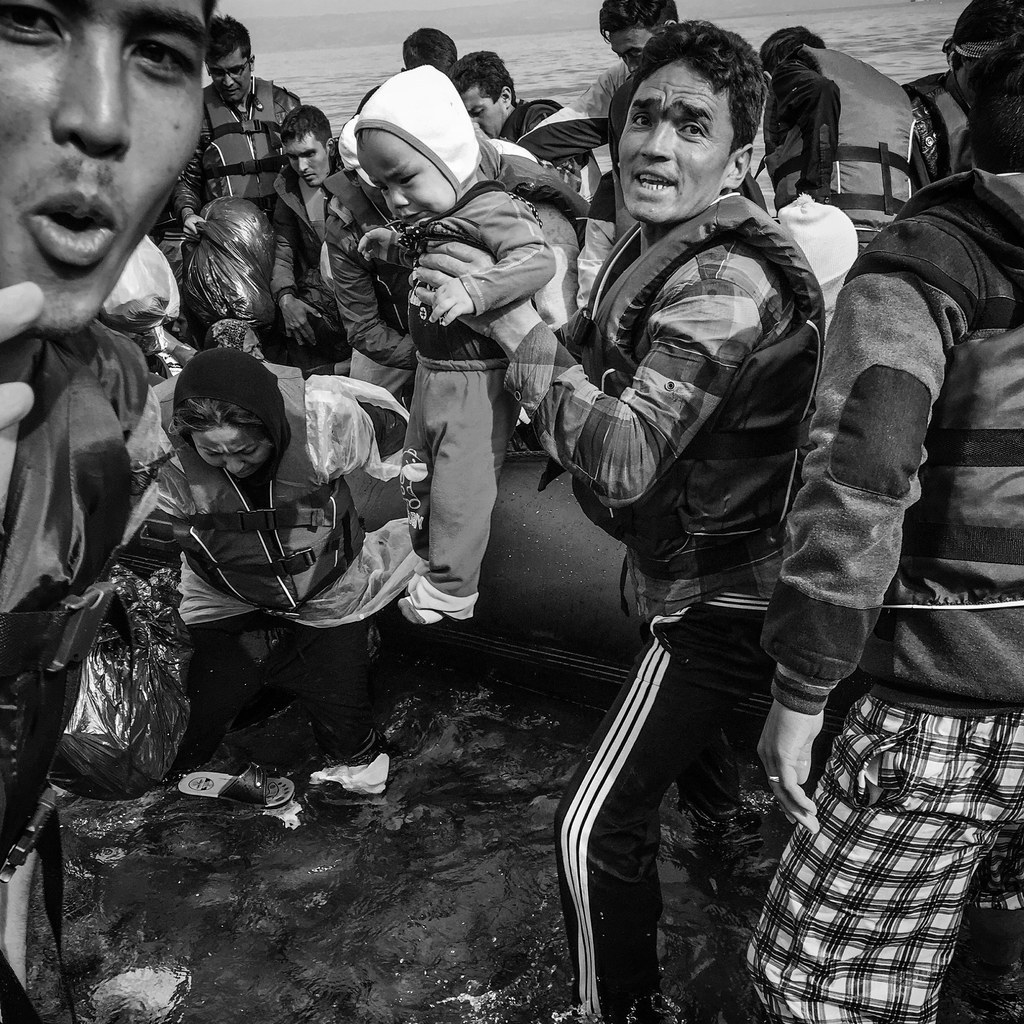 Patrick Witty's Dramatic Photos Capture What It's Like To Arrive As A Refugee