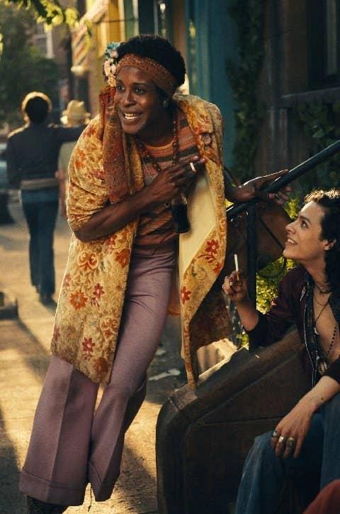 Otoja Abit as Marsha P. Johnson in Stonewall.