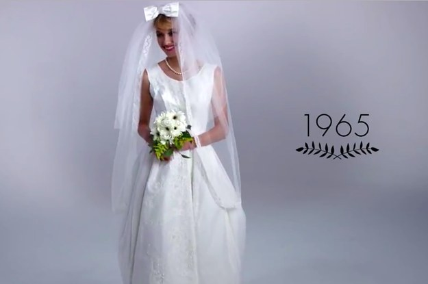 Heres A Look At 100 Years Of Wedding Gowns In Three Minutes - Wedding Dress 100