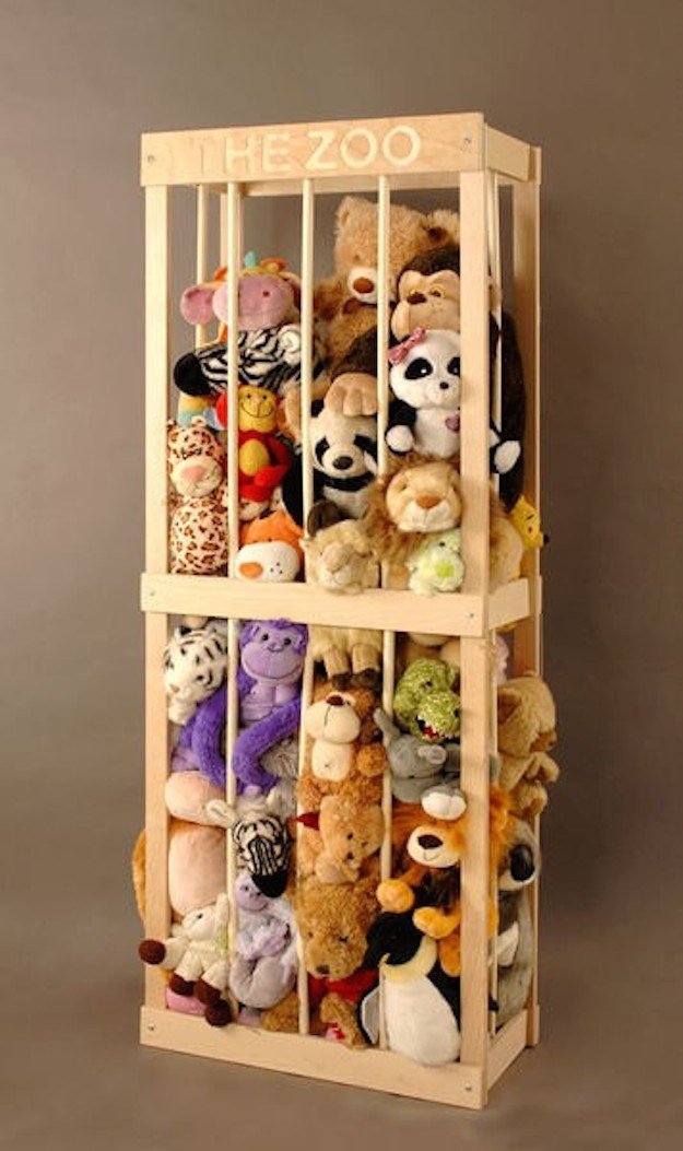 """This stuffed animal """"zoo"""" holds every different breed."""