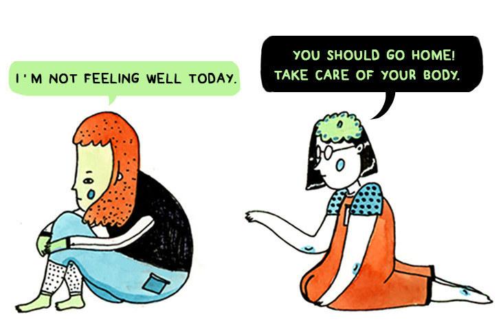 How People Treat Mental Illness Vs. How They Treat Physical Illness