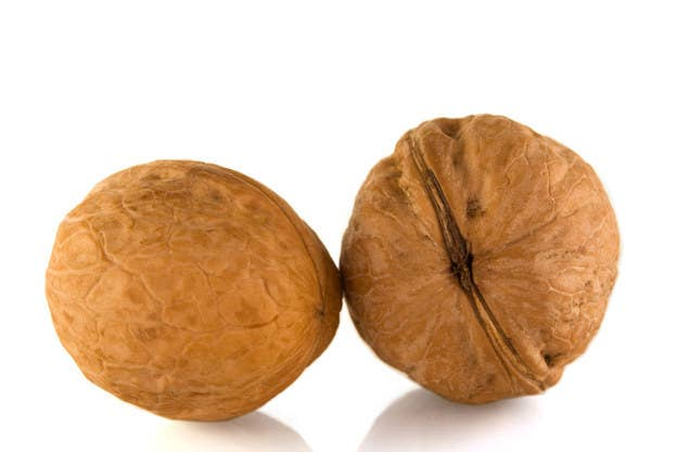 Generally, your testicles should be around the same size and each about the size of a walnut, says Fisch. If you notice that one is much bigger than the other and hanging lower, that could be a sign of a varicocele (an engorgement of the vein in the testicle). See your doctor about that ASAP, because it might be affecting your sperm, says Fisch. And if your testicles are smaller than a walnut, that could also be a sign that you're not producing as much sperm or testosterone, so it's worth checking in with a urologist.