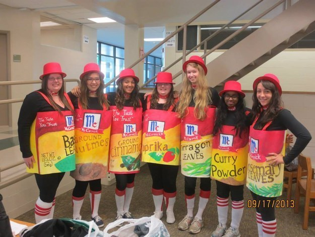 The  Spice Girls.   sc 1 st  BuzzFeed & 32 Ridiculously Clever Group Halloween Costumes
