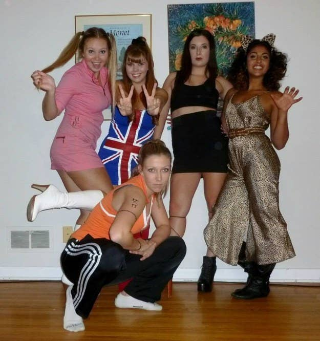 7 the actual spice girls