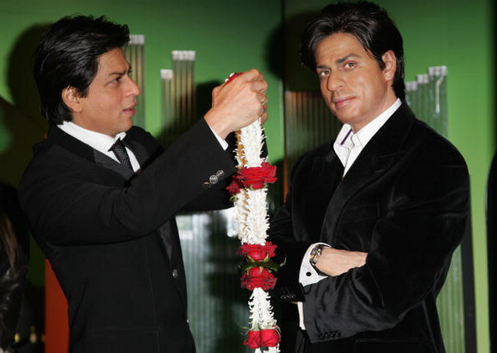 Despite familial objections, SRK eventually won SRK's hand in marriage and pulled SRK on to a train ride leading to a happily ever after for SRK and SRK.