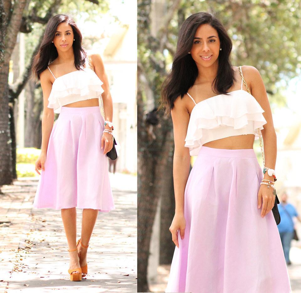 Resultado de imagen para faldas con crop top