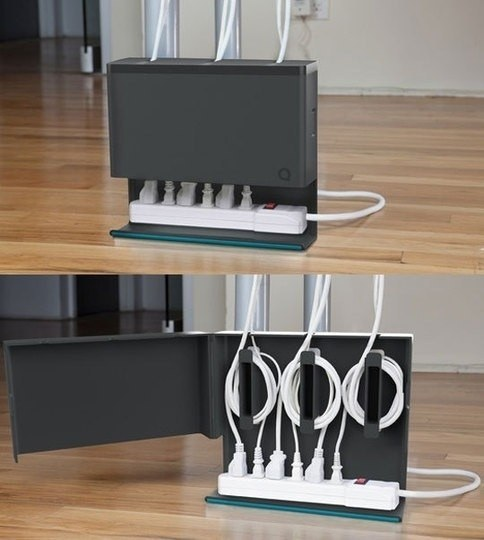 Keep your cords organized with this handy hub.
