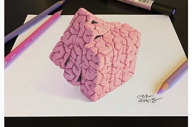 16 gorgeous 3d drawings thatll confuse your brain