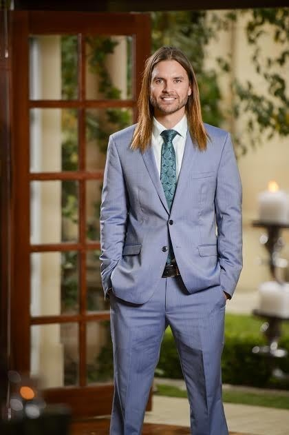 Drew is a sleep technician who applied for The Bachelorette after his concerned dad told him he couldn't just ride bikes for the rest of his life. So now he's ready to win the race for Sam's heart instead.