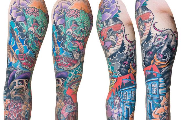 27 Tatuajes de manga que son bsicamente obras de arte