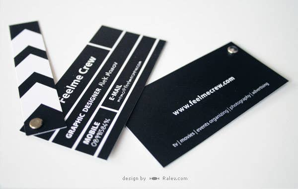 20 of the most creative business cards the video production company colourmoves
