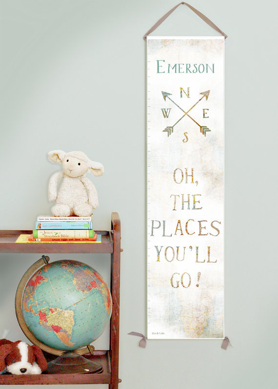 27 Ways To Create The Perfect Travel Inspired Nursery