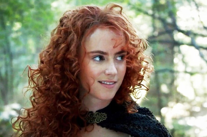 I AM MERIDA, AND I'LL BE SHOOTING FOR MY OWN ROLE ON ONCE UPON A TIME!!