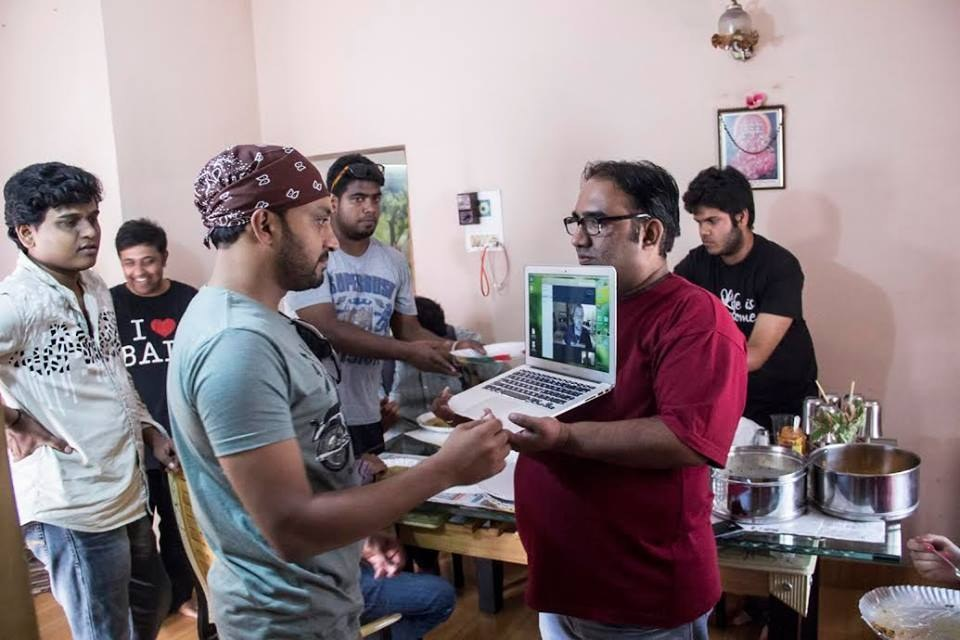 An American Filmmaker Couldn't Get A Visa To India, So He's Directing A Film Over Skype