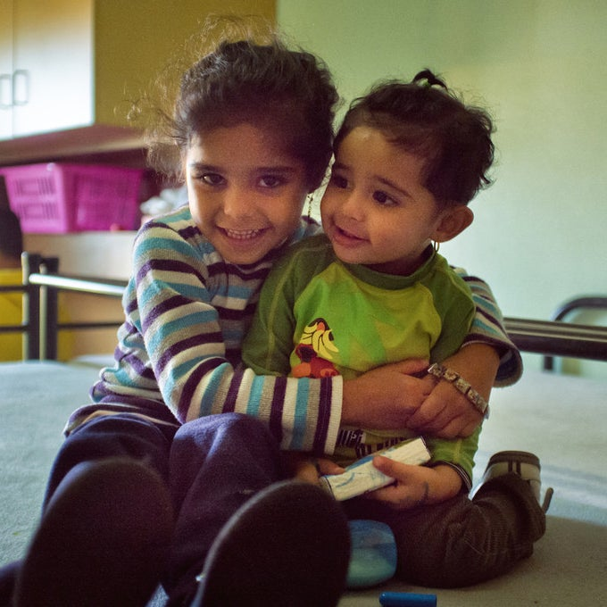 Malak and Rayhana together